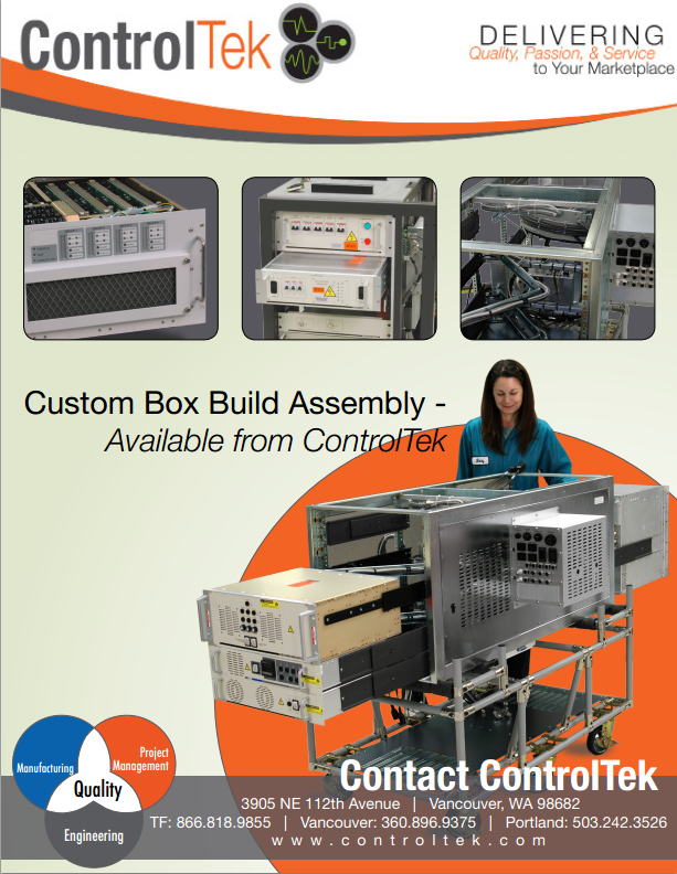 Box Build Assembly : Box build assembly services in vancouver washington