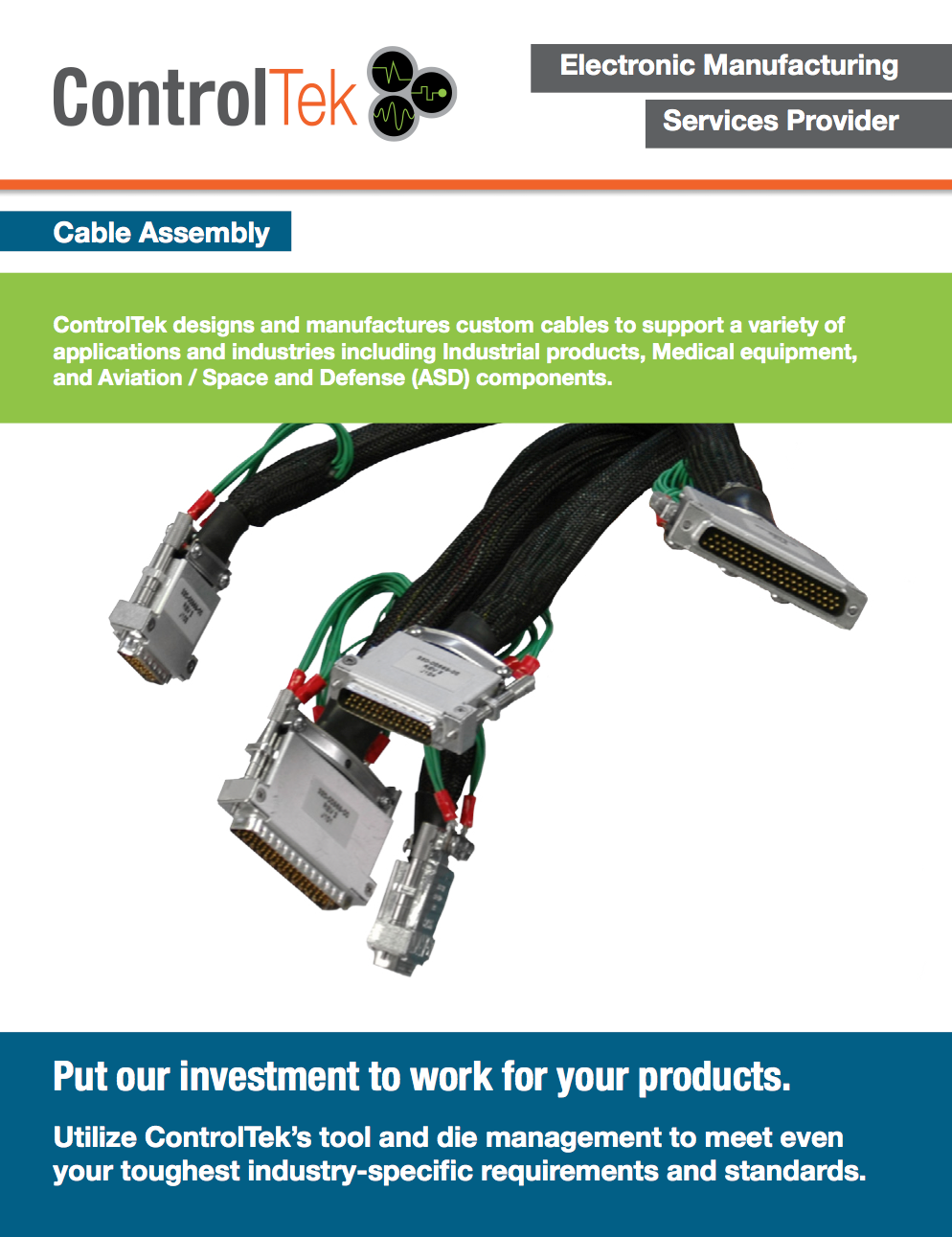 Custom Cable Harness Design and Assembly | ControlTek